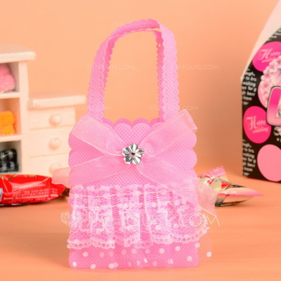Lovely Handbag shaped Favor Bags With Bow/Laces (Set of 12)