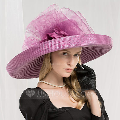 Ladies' Fashion/Glamourous/Unique/Eye-catching/High Quality/Artistic Polyester Beret Hat/Kentucky Derby Hats