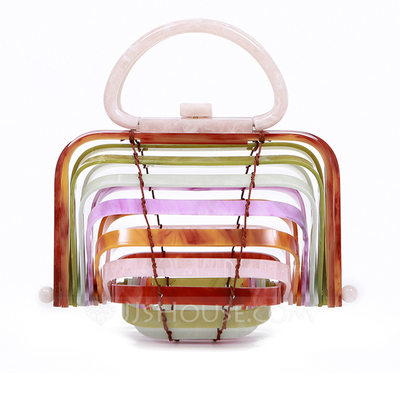 Hollow Acrylic Clutches