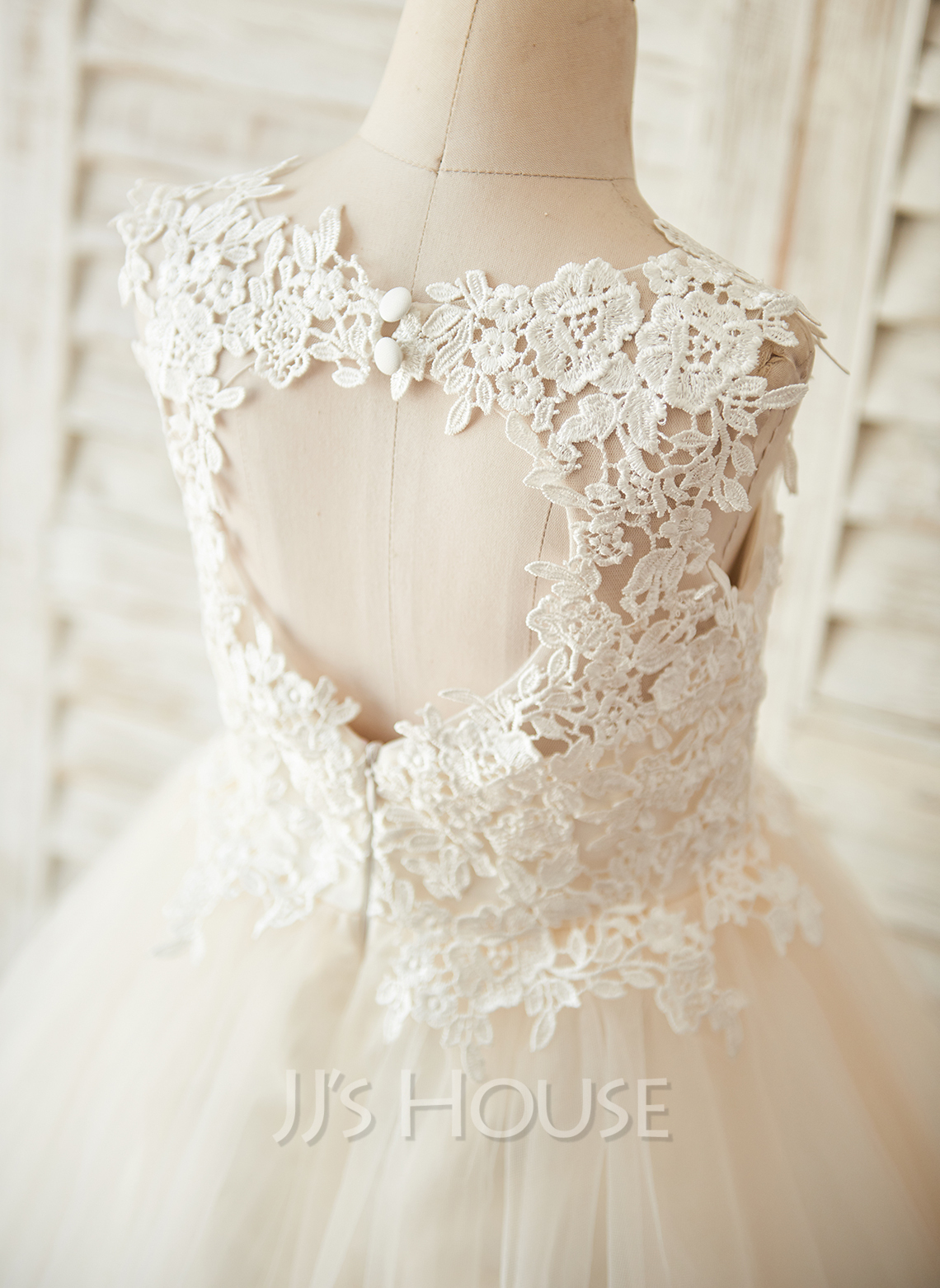 flower girl dress lace - photo #42
