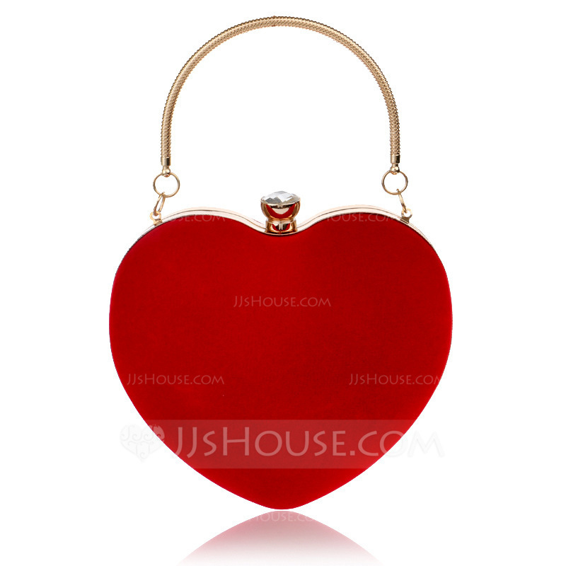 Elegant/Fashionable/Delicate Metal/Suede Clutches/Evening Bags