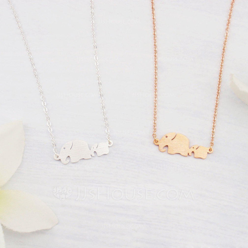 Personalized Ladies' Fancy 925 Sterling Silver Initial Necklaces For Bridesmaid/For Mother/For Friends/For Couple