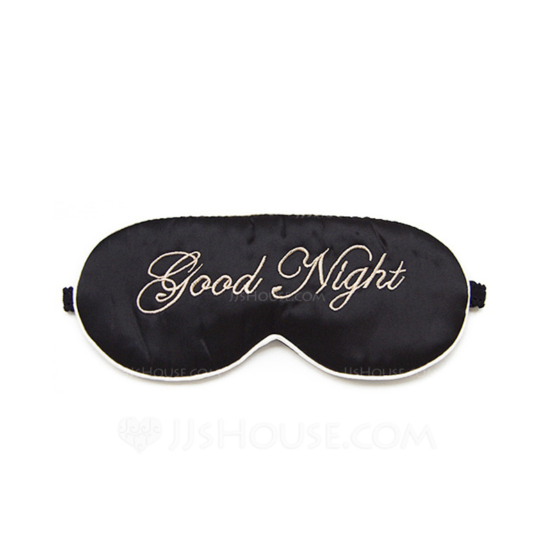 Bride Gifts - Lovely Simple Eye-catching Silk Eye Mask (Sold in a single piece)