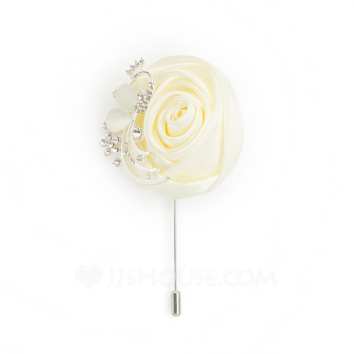 Modern Alloy Charmeuse Boutonniere