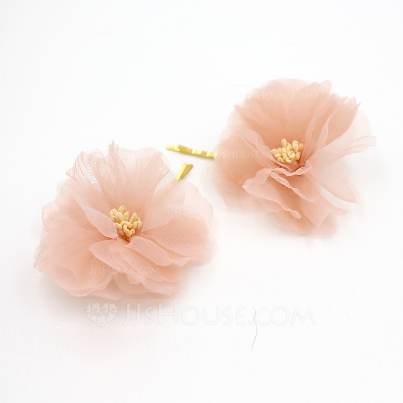 Ladies Gorgeous Chiffon Hairpins