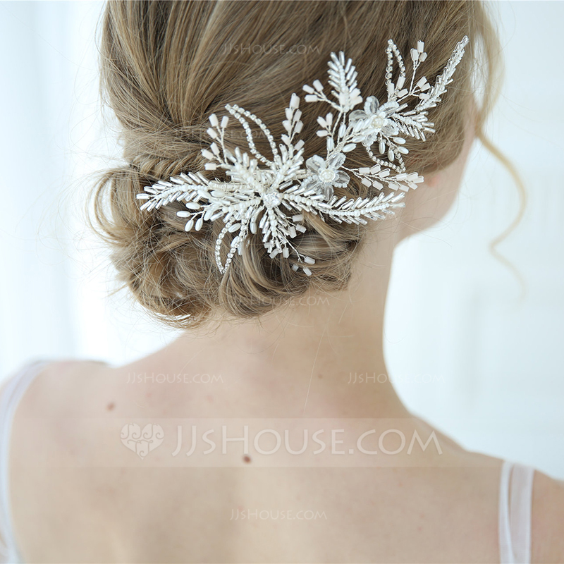 Classic Crystal Hairpins With Rhinestone/Crystal (Sold in single piece)