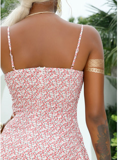 simple mid calf wedding dresses