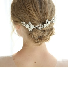 Elegant Rhinestone Hairpins With Rhinestone/Crystal (Set of 3)