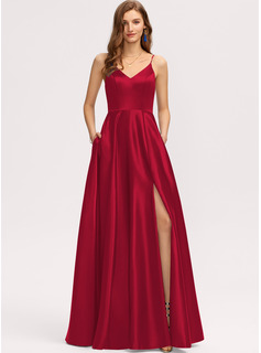 red trumpet dress wedding