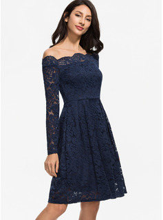 evening dress for pear shaped