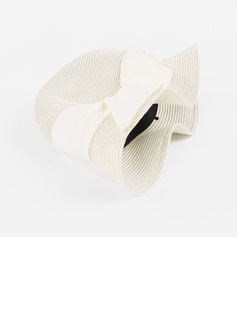 Ladies' Elegant/Pretty Polyester With Imitation Pearls Bowler/Cloche Hats