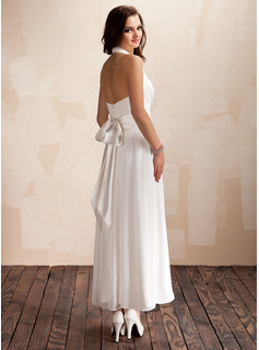 asymmetrical bridesmaids dress