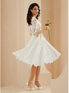 off white lace party dress