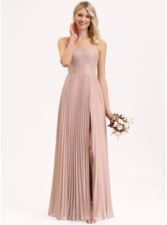 satin fit flare wedding dress