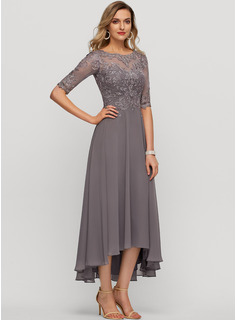 tall womens tea length dresses