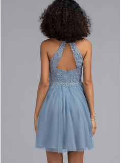 blue sequin mermaid formal dress