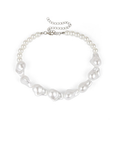 Ladies' Elegant Imitation Pearls Necklaces For Bride/For Bridesmaid/For Mother