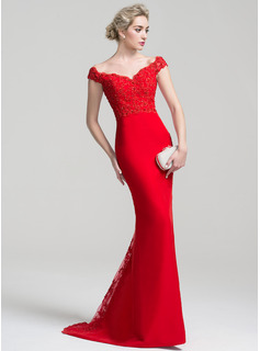 creative red prom dresses