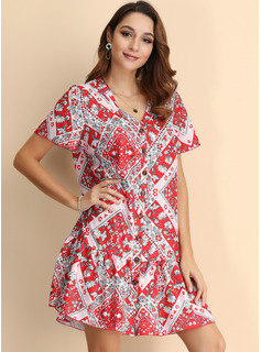 womens mid length casual dresses