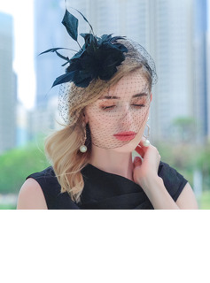 Ladies' Beautiful Feather Kentucky Derby Hats