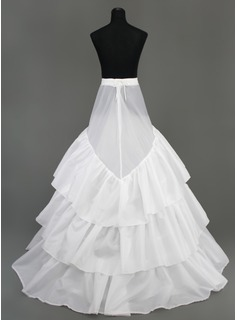 wedding dress petticoat a line