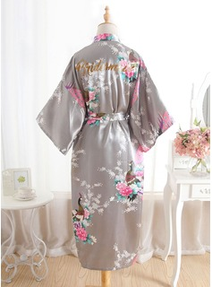 bridesmaid robes gold
