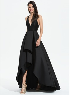 asymmetrical high low evening dresses