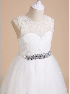 lace short white strapless dress