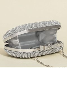 Shining Metal Clutches/Satchel