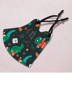 Christmas Non-Medical Cotton Reusable Face Masks With Adjustable Loop