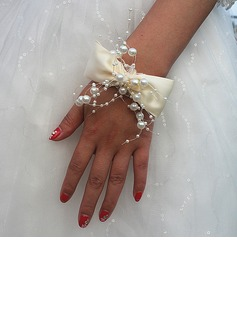 Satin Wrist Corsage (Sold in a single piece) -