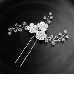 Ladies Crystal Combs & Barrettes (Sold in single piece)