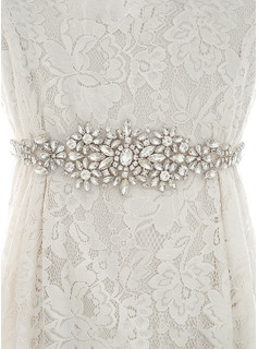 sparkly wedding dress belt