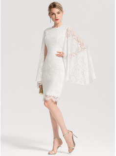 long white lace halter dress