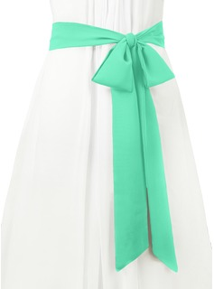 satin sashes for bridesmaid dresses