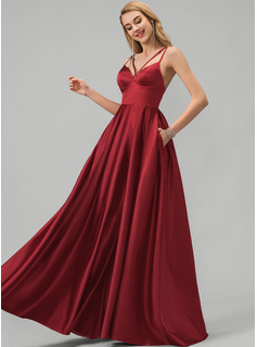 red pink orange bridesmaid dresses