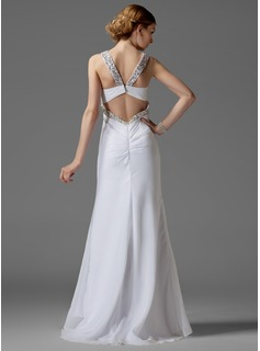 cheap sheath wedding dresses