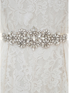 rhinestone wedding dress belt