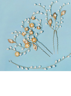 Elegant Imitation Pearls Headbands With Pearl