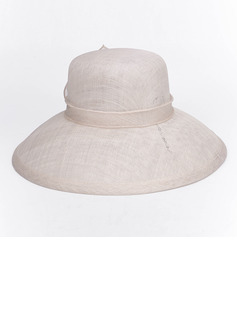 Ladies' Gorgeous/Elegant/Fancy Organza With Feather Fedora Hats