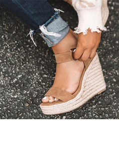 Suede Wedge Heel Sandals Wedges With Others shoes