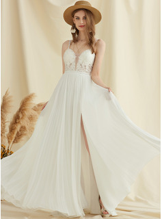 long white fishtail dress