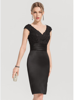 cheap long black sequin dress