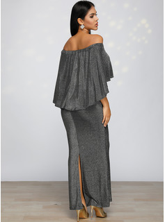lace evening dresses with sleeves