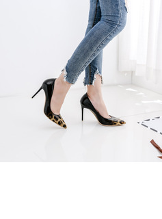 Women's Stiletto Heel With Animal Print shoes