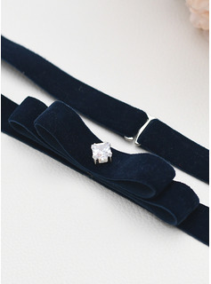 Elastic Sash With Zircon