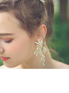 Ladies' Exquisite Alloy Rhinestone Earrings For Bride/For Bridesmaid/For Mother/For Friends/For Her