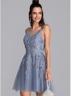 blue short strapless sequin dress