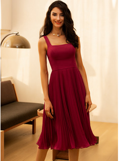 burgundy maid of honor dress