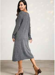 full length maxi sweater dress